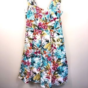 Montique floral party dress size 10